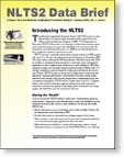 Thumbnail image of the NLTS2 Data Brief series